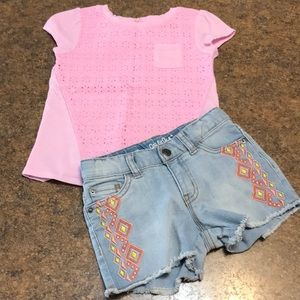 *2 for 20 SALE* Cat & Jack Girls 4T Outfit